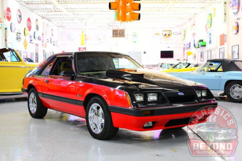 1986 Ford Mustang for sale at Classics and Beyond Auto Gallery in Wayne MI