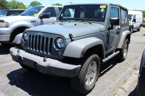 2017 Jeep Wrangler Unlimited for sale at Keffer Jeep in Charlotte NC