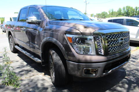 2018 Nissan Titan for sale at Keffer Jeep in Charlotte NC