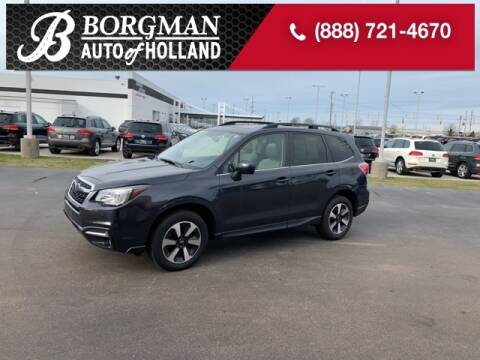 2017 Subaru Forester for sale at BORGMAN OF HOLLAND LLC in Holland MI