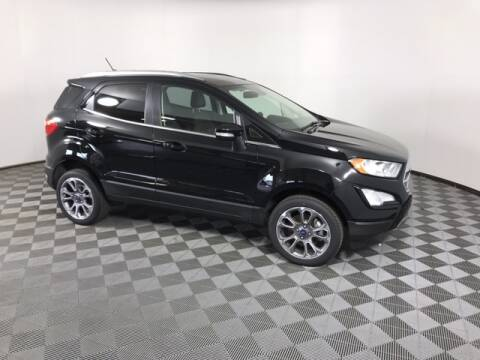 2020 Ford EcoSport for sale at BORGMAN OF HOLLAND LLC in Holland MI
