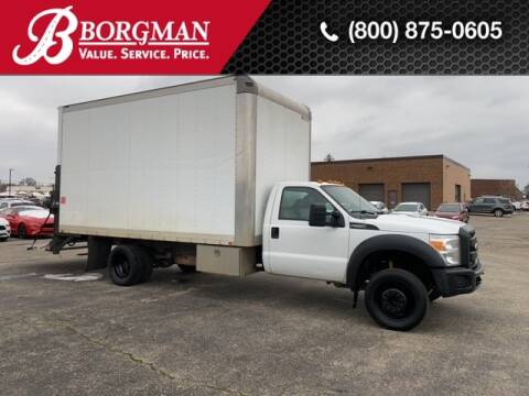 2012 Ford F-550 Super Duty for sale at BORGMAN OF HOLLAND LLC in Holland MI