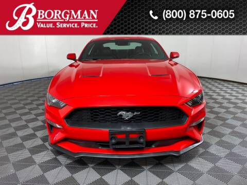 2019 Ford Mustang for sale at BORGMAN OF HOLLAND LLC in Holland MI