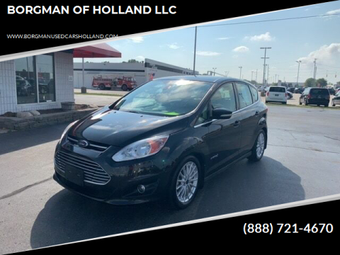2013 Ford C-MAX Hybrid for sale at BORGMAN OF HOLLAND LLC in Holland MI