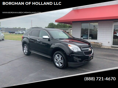 2014 Chevrolet Equinox for sale at BORGMAN OF HOLLAND LLC in Holland MI