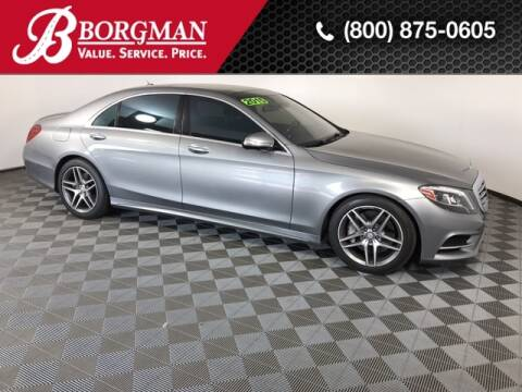 2015 Mercedes-Benz S-Class for sale at BORGMAN OF HOLLAND LLC in Holland MI