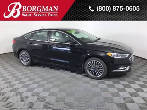 2017 Ford Fusion for sale at BORGMAN OF HOLLAND LLC in Holland MI