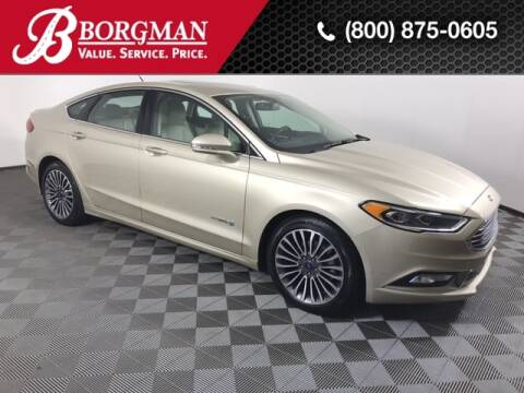2017 Ford Fusion Hybrid for sale at BORGMAN OF HOLLAND LLC in Holland MI