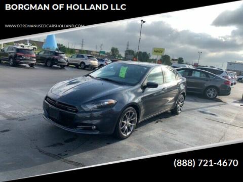 2014 Dodge Dart for sale at BORGMAN OF HOLLAND LLC in Holland MI