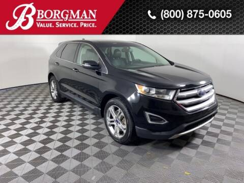 2016 Ford Edge for sale at BORGMAN OF HOLLAND LLC in Holland MI