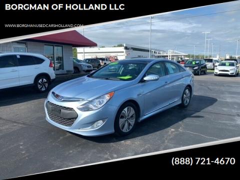 2014 Hyundai Sonata Hybrid for sale at BORGMAN OF HOLLAND LLC in Holland MI