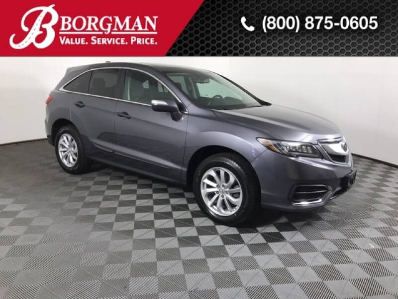 2017 Acura RDX for sale at BORGMAN OF HOLLAND LLC in Holland MI