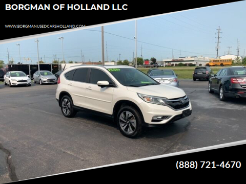 2015 Honda CR-V for sale at BORGMAN OF HOLLAND LLC in Holland MI