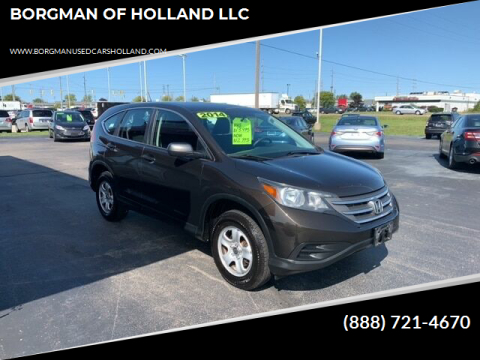 2014 Honda CR-V for sale at BORGMAN OF HOLLAND LLC in Holland MI