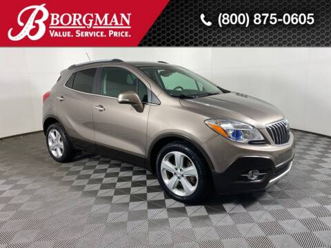 2015 Buick Encore for sale at BORGMAN OF HOLLAND LLC in Holland MI