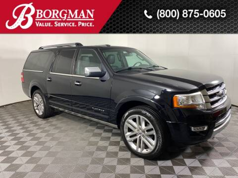 2016 Ford Expedition EL for sale at BORGMAN OF HOLLAND LLC in Holland MI