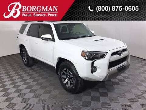 2019 Toyota 4Runner for sale at BORGMAN OF HOLLAND LLC in Holland MI
