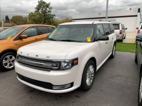 2018 Ford Flex for sale at BORGMAN OF HOLLAND LLC in Holland MI