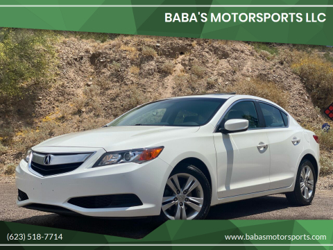 2013 Acura ILX for sale at Baba's Motorsports, LLC in Phoenix AZ