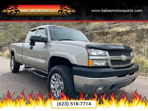 2003 Chevrolet Silverado 2500HD for sale at Baba's Motorsports, LLC in Phoenix AZ