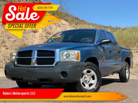 2005 Dodge Dakota for sale at Baba's Motorsports, LLC in Phoenix AZ