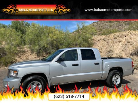 2008 Dodge Dakota for sale at Baba's Motorsports, LLC in Phoenix AZ