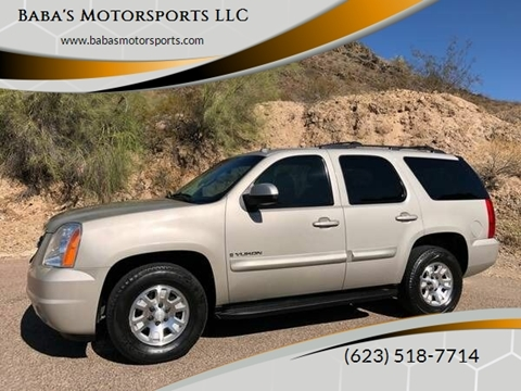 2008 GMC Yukon for sale at Baba's Motorsports, LLC in Phoenix AZ