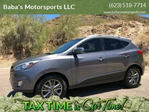 2015 Hyundai Tucson for sale at Baba's Motorsports, LLC in Phoenix AZ