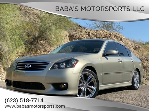 2009 Infiniti M35 for sale at Baba's Motorsports, LLC in Phoenix AZ
