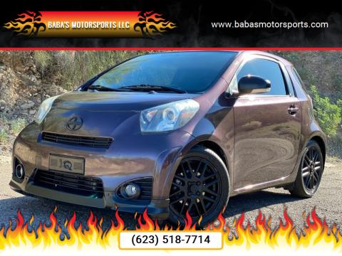 2014 Scion iQ for sale at Baba's Motorsports, LLC in Phoenix AZ