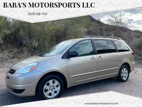 2004 Toyota Sienna for sale at Baba's Motorsports, LLC in Phoenix AZ