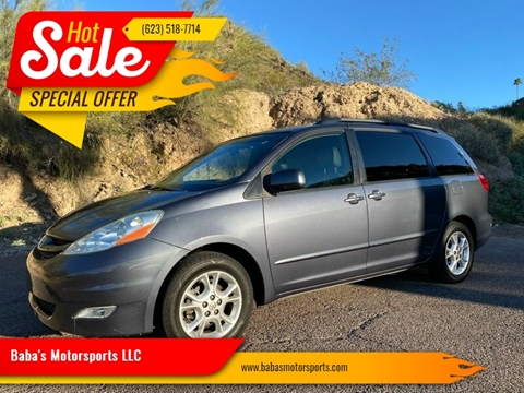 2006 Toyota Sienna for sale at Baba's Motorsports, LLC in Phoenix AZ