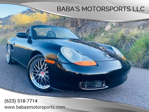 2002 Porsche Boxster for sale at Baba's Motorsports, LLC in Phoenix AZ