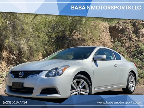 2013 Nissan Altima for sale at Baba's Motorsports, LLC in Phoenix AZ