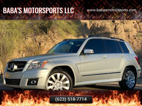 2012 Mercedes-Benz GLK for sale at Baba's Motorsports, LLC in Phoenix AZ