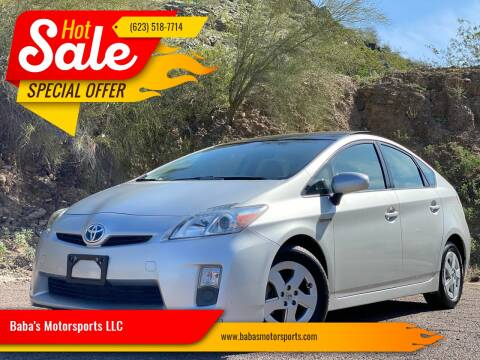 2010 Toyota Prius for sale at Baba's Motorsports, LLC in Phoenix AZ