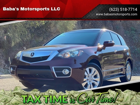 2011 Acura RDX for sale at Baba's Motorsports, LLC in Phoenix AZ