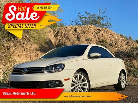 2012 Volkswagen Eos for sale at Baba's Motorsports, LLC in Phoenix AZ