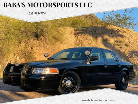 2010 Ford Crown Victoria for sale at Baba's Motorsports, LLC in Phoenix AZ