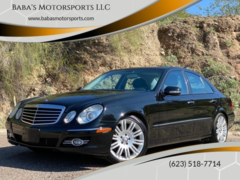 2008 Mercedes-Benz E-Class for sale at Baba's Motorsports, LLC in Phoenix AZ