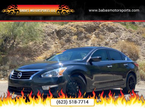 2013 Nissan Altima for sale at Baba's Motorsports, LLC in Phoenix AZ