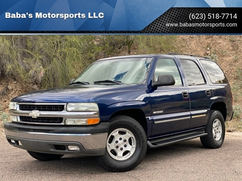 2003 Chevrolet Tahoe for sale at Baba's Motorsports, LLC in Phoenix AZ
