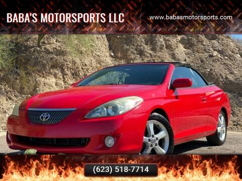 2005 Toyota Camry Solara for sale at Baba's Motorsports, LLC in Phoenix AZ