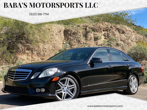 2010 Mercedes-Benz E-Class for sale at Baba's Motorsports, LLC in Phoenix AZ