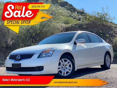 2009 Nissan Altima for sale at Baba's Motorsports, LLC in Phoenix AZ