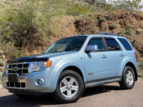 2008 Ford Escape Hybrid for sale at Baba's Motorsports, LLC in Phoenix AZ
