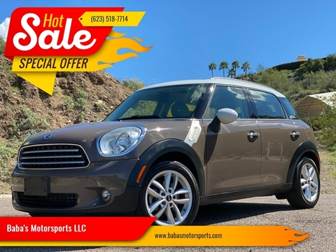 2012 MINI Cooper Countryman for sale at Baba's Motorsports, LLC in Phoenix AZ