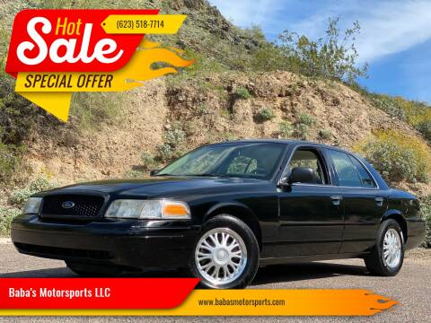 2008 Ford Crown Victoria for sale at Baba's Motorsports, LLC in Phoenix AZ