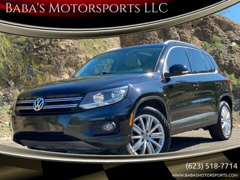 2012 Volkswagen Tiguan for sale at Baba's Motorsports, LLC in Phoenix AZ