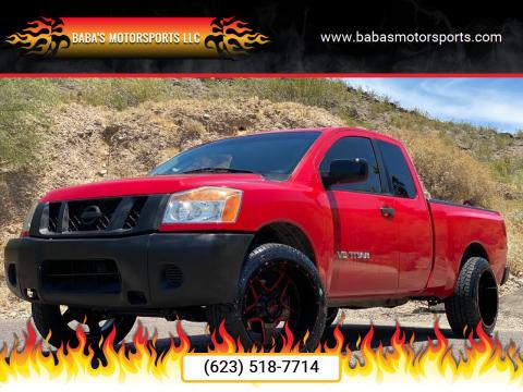 2008 Nissan Titan for sale at Baba's Motorsports, LLC in Phoenix AZ